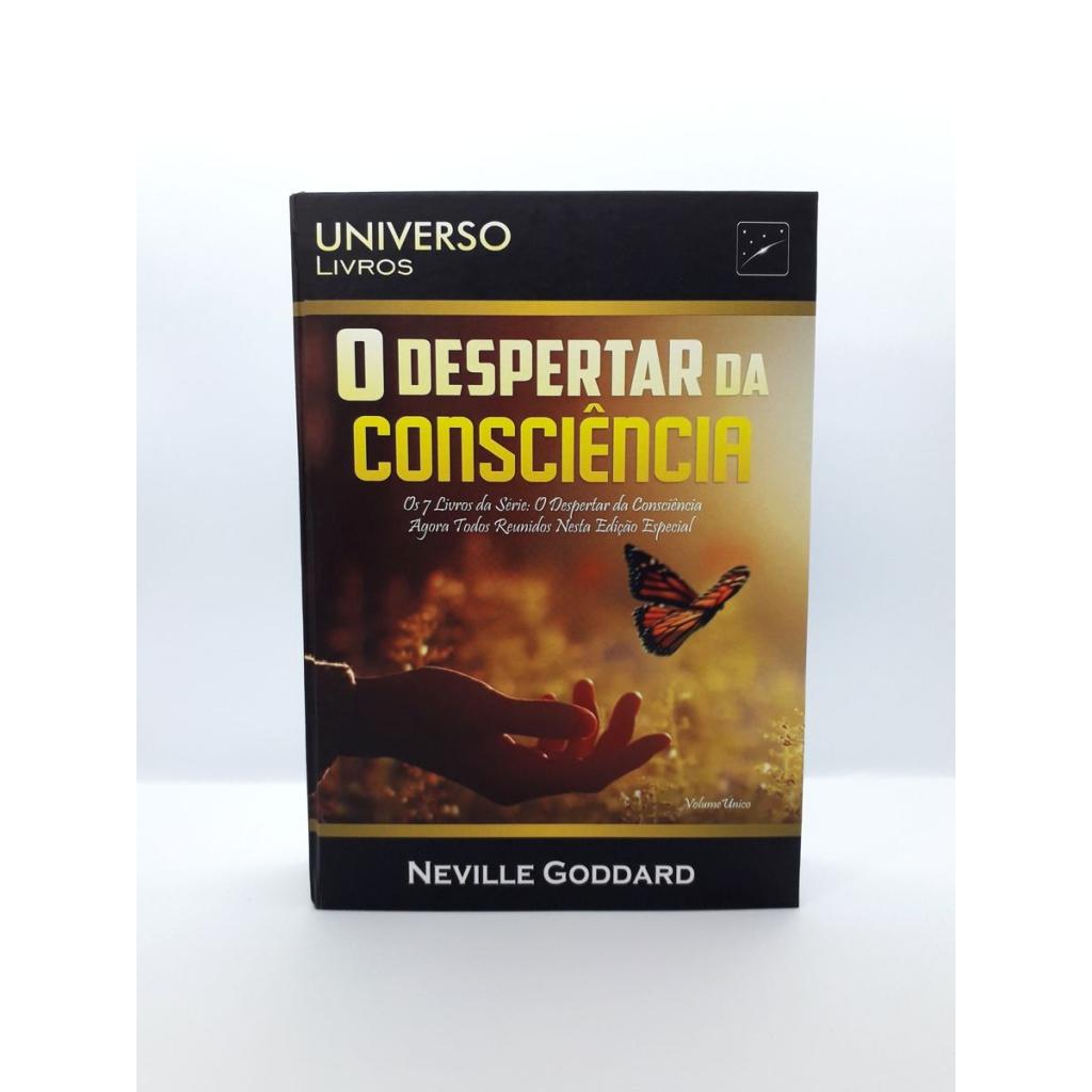 Neville Goddard - O Despertar da Consciência - Livro Impresso - Foto Real 2.0