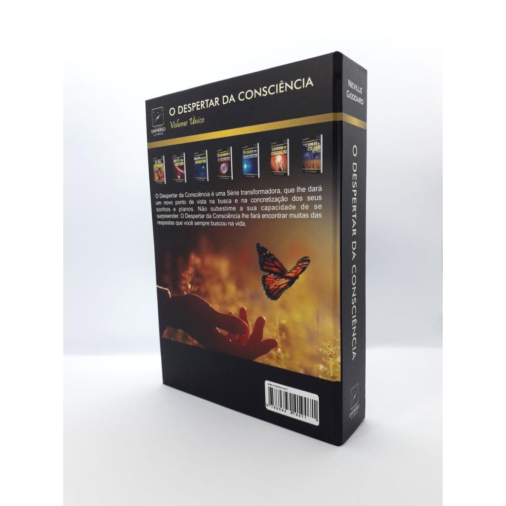 Neville Goddard - O Despertar da Consciência - Livro Impresso - Foto Real 4.0