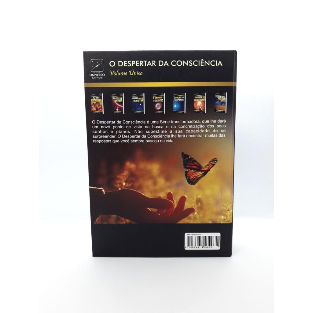 Neville Goddard - O Despertar da Consciência - Livro Impresso - Foto Real 5.0