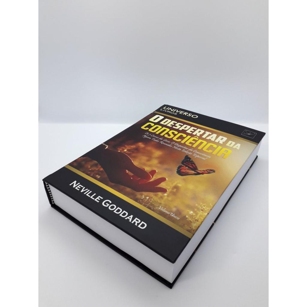 Neville Goddard - O Despertar da Consciência - Livro Impresso - Foto Real 6.0