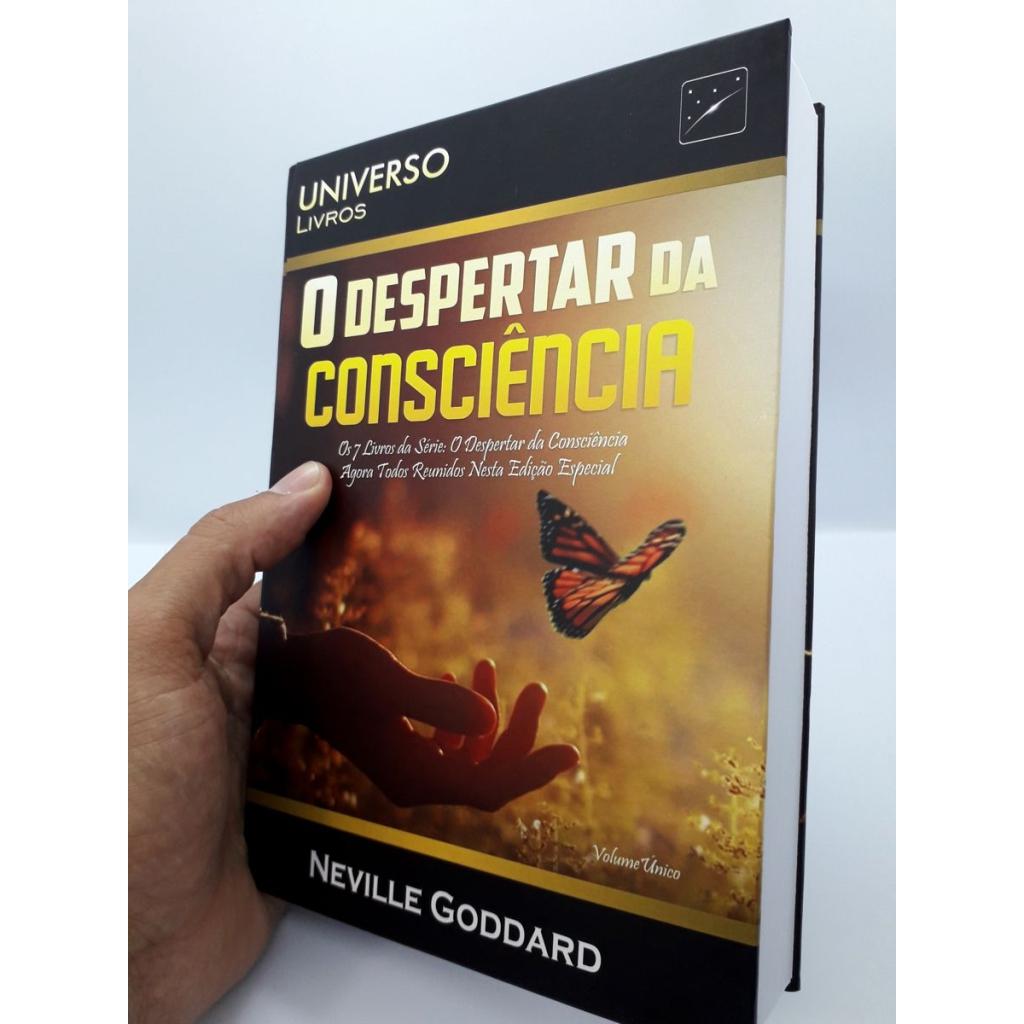 Neville Goddard - O Despertar da Consciência - Livro Impresso - Foto Real 8.0